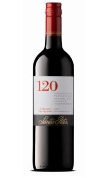 桑塔丽塔120加本力苏维翁红葡萄酒