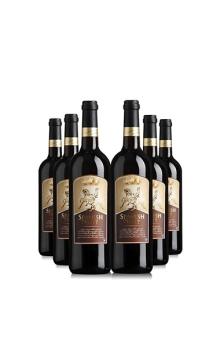 吉特优选干红葡萄酒6支装