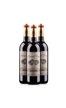法国公爵干红葡萄酒三支