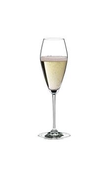 醴铎(曾用名:力多)宫廷特级机制系列香槟型水晶酒杯(双支装)
