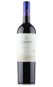 卡门顶峰梅洛红葡萄酒