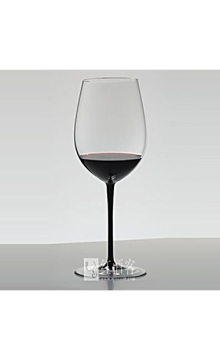 醴铎(曾用名:力多)御用手工水晶-黑领结系列头等苑波尔多型酒杯