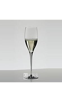 醴铎(曾用名:力多)御用手工黑领结系列香槟型水晶酒杯