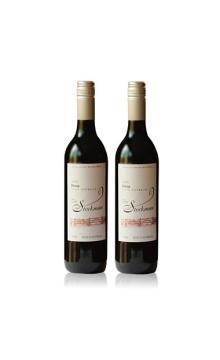 牧人西拉干红葡萄酒双支装