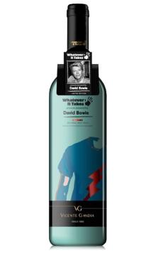 世界巨星慈善系列之 大卫·鲍伊半干红葡萄酒