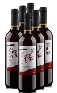 携手 - 棠普尼罗红葡萄酒 整箱6瓶装