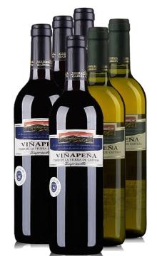 整箱6瓶特色套餐A:威伯纳干红葡萄酒*4瓶+威伯纳干白葡萄酒*2瓶