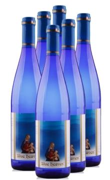 蓝色天堂干白葡萄酒 整箱6瓶装