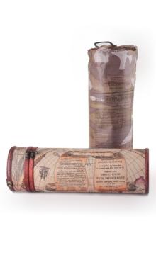 立式单支圆筒仿古红酒盒