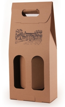 便携式双支红酒包装盒