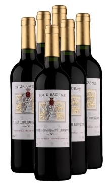 图尔巴干红葡萄酒-6支装