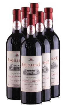 圣西昂卓越红葡萄酒整箱6瓶装