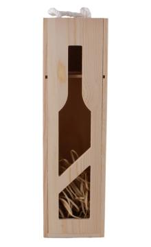 单支葡萄酒(镂空)酒盒