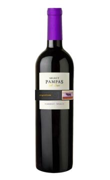 潘帕斯精选加本力美乐红葡萄酒