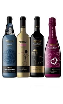 知名明星酒组合 007+成龙+塞隆+乔治克鲁尼