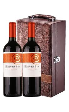马代苏卡曼尼单瓶*2+皮质精致礼盒带酒具*1