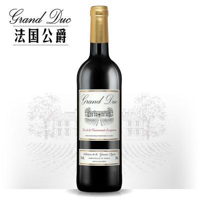 法国公爵干红葡萄酒