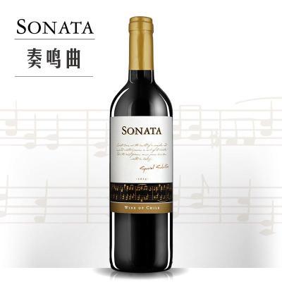 奏鸣曲精选干红葡萄酒