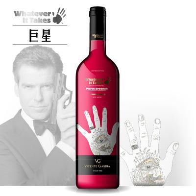 世界巨星慈?#33889;?#21015;之 皮尔斯·布鲁斯南半干红葡萄酒