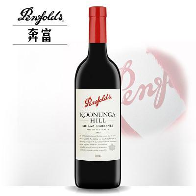 奔富寇兰山西拉赤霞珠干红葡萄酒